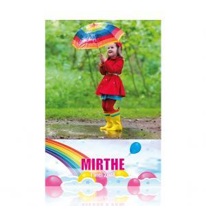 Poster A3 regenboog