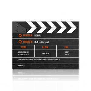 Uitnodiging filmklapper