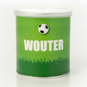 Wikkel Pringles voetbal