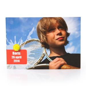 Fotokaart tennis