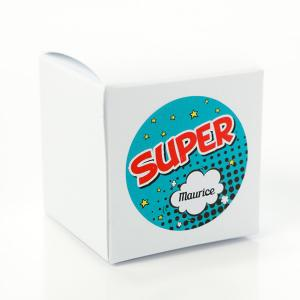 Sticker rond 40mm cartoon