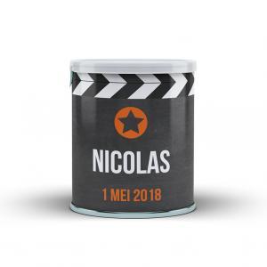 Wikkel Pringles filmklapper