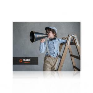 Fotokaart filmklapper