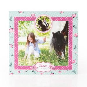 Fotokaart paard
