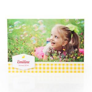 Fotokaart vichy geel