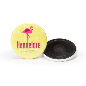 Magneet 38mm flamingo
