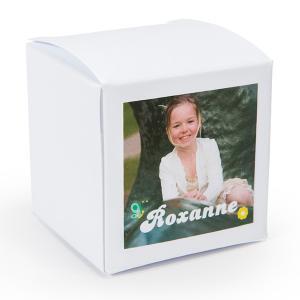 Sticker vierkant 40mm lente