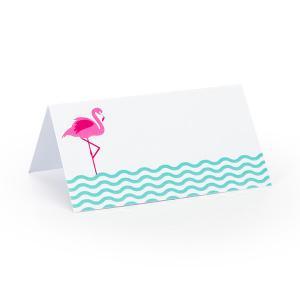 Tafelkaartje flamingo