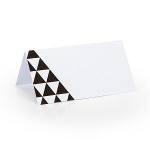 Tafelkaartje zwart wit 1