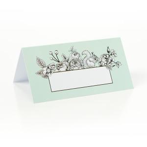 Tafelkaartje botanic